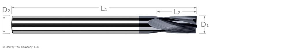 flat bottom counterbores