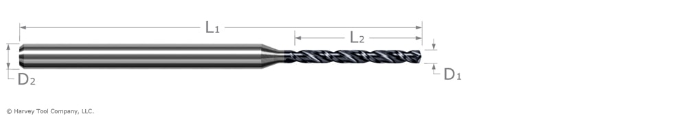 drill for hardened steel