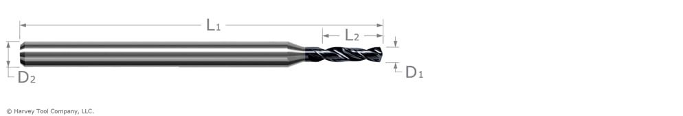 drill for prehardened steel
