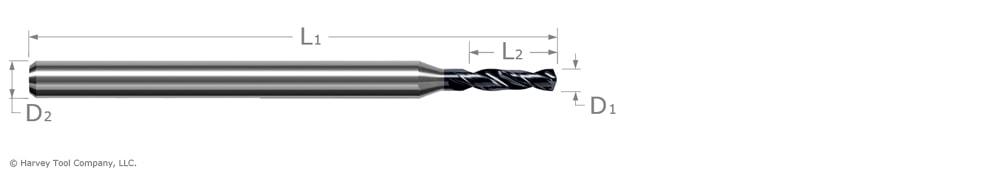 drill for prehardened steel