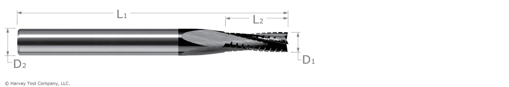 chipbreaker for composite materials