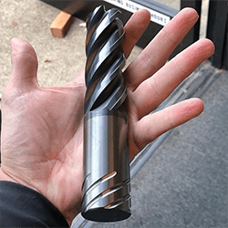 helical end mill