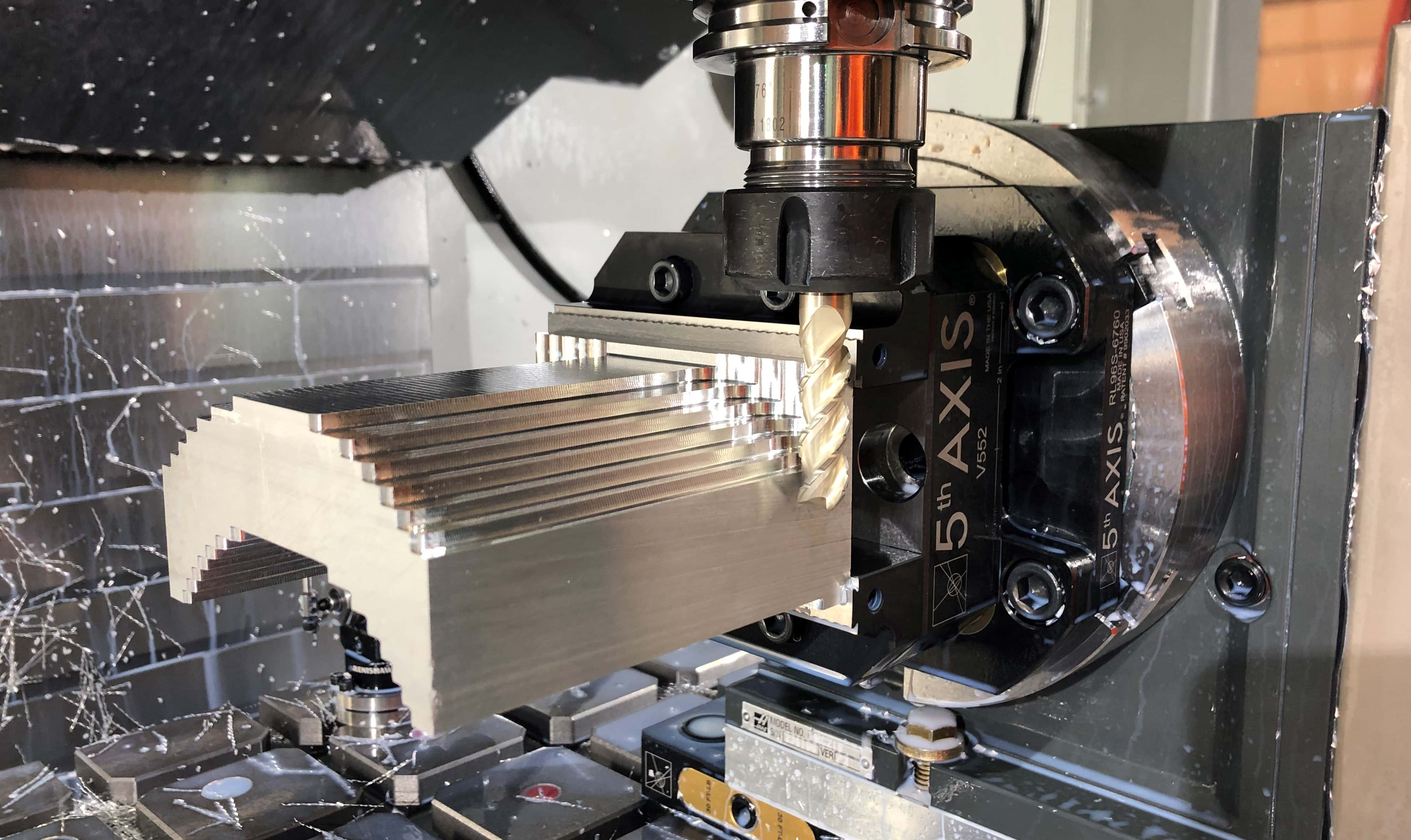 5th axis workholding