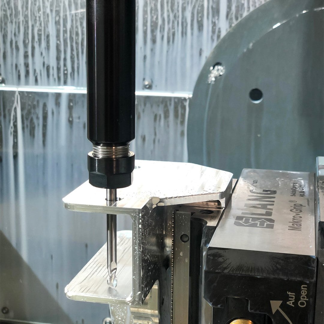 KAD Models cnc machining a custom part