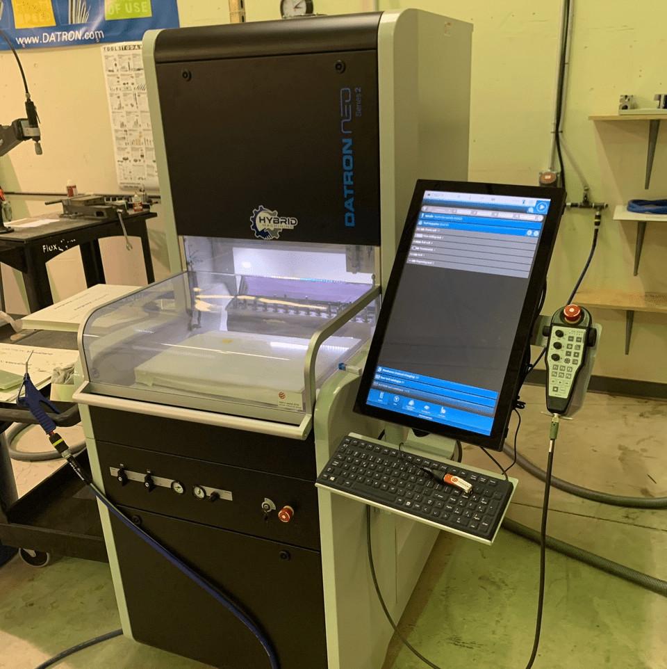 hybrid machining datron neo