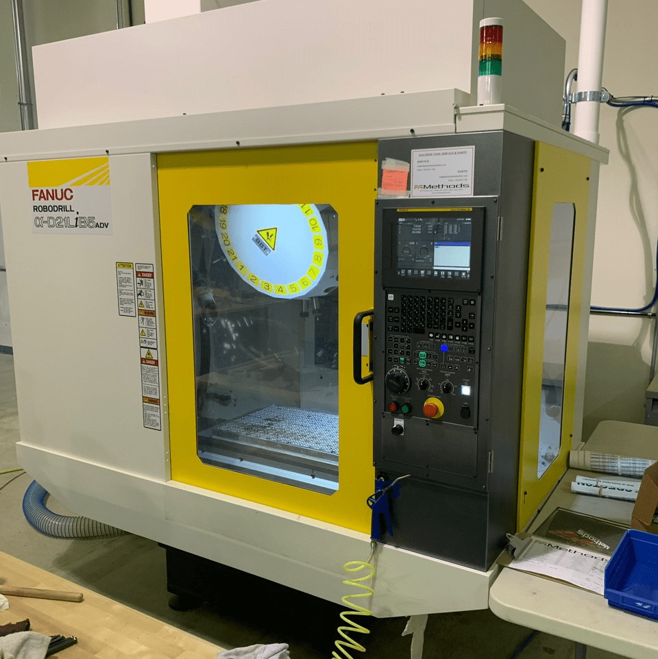 fanuc robodrill machine