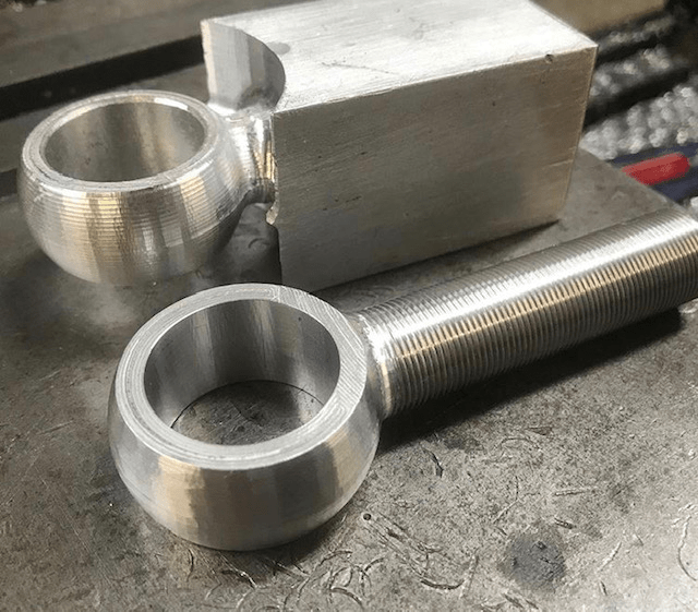 metal racing parts made by Heavy Duty Racing