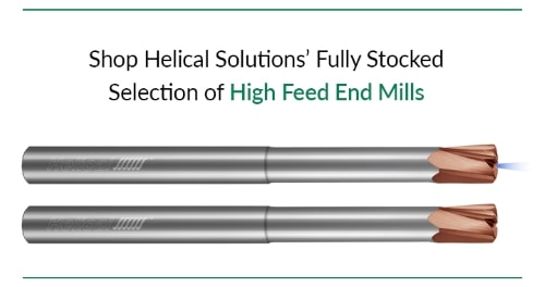 high feed end mill ad